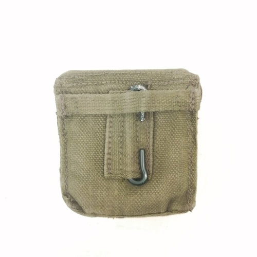 British '58-pattern Compass Pouch. Used/Graded / NOS. Olive Green.