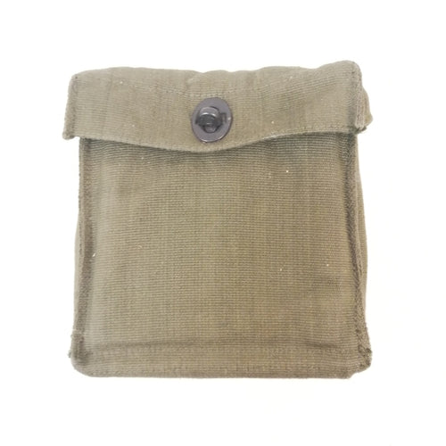 British '58-pattern Binocular Pouch. Used/Graded / New. Olive Green.