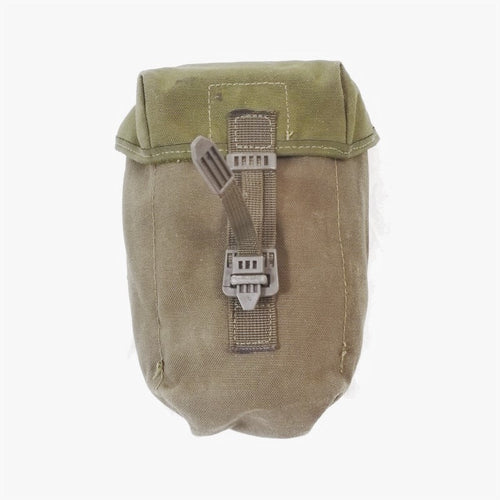 British '90-pattern P.L.C.E. Water Bottle Pouch - Gen-2. Used / Graded. Olive Green.