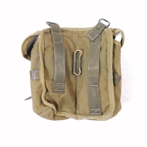 British '90-pattern P.L.C.E. Ammo Pouch - Gen-1 / Right. Used / Graded. Olive Green.