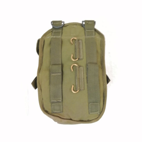 British '90-pattern P.L.C.E. Utility Pouch - Gen-1. Used / Graded. Olive Green.
