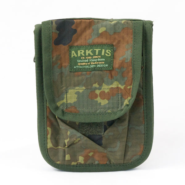 Admin: Notebook Holder. A6+. New. Flecktarn.