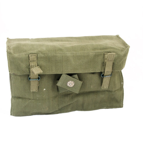 British '58-pattern Linesman Pouch. Used/Graded/ NOS. Olive Green.