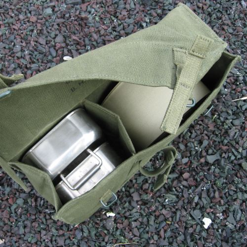 British 58-Patt. Linesman Pouch. Olive Green.