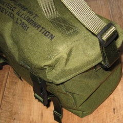 British 'Flare Kit' Haversack. New. Olive.