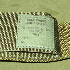 British 90-Patt. SR60 P.L.C.E. Belt. New. Olive Green.