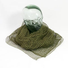 Camouflage & Concealment: Scrim Net. Full Size. British-patt. New. Olive Green.