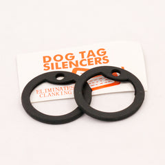 Protective Gear: Dog Tag Silencers. New. Black.