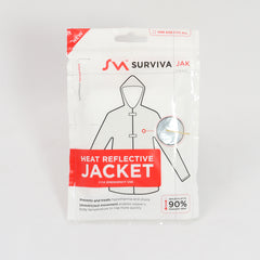 Survival: Emergency Foil Jacket. New. Silver.