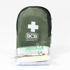 First Aid: Basic First Aid Kit. New. Olive Green.