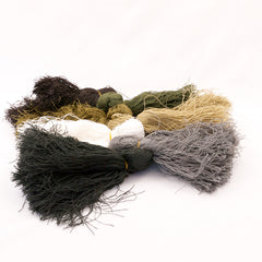 Camouflage & Concealment: Ghillie Threads (Bonus Pack!) - 13 x Hanks. New. Mix Colours.