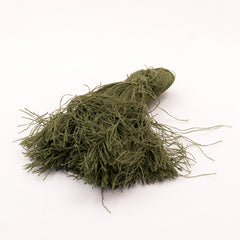 Camouflage & Concealment: Ghillie Threads. Per Hank. New. Olive Green.