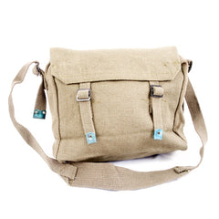 Cotton-Webbing Small Basic Haversack. New. Olive Green.