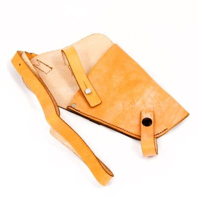 British Leather Pistol Holster. 'New'. Tan.