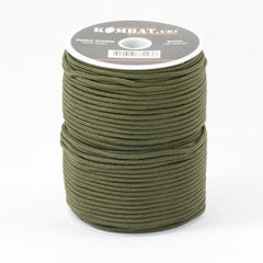 Cord: 'Para' Cord. Generic. Full 100mts Roll. New. Olive Green.