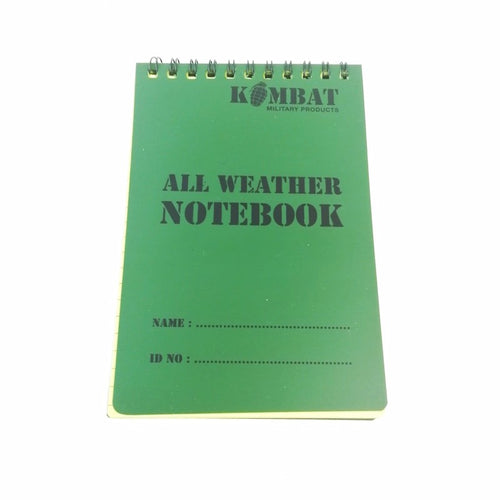 Admin: Notebook. A6. New. Olive.