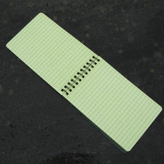 A6 All-weather Notebook. Green.