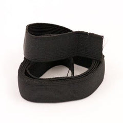 Elastic: Flat Elastic. 3mts. New. Black.