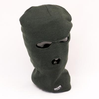 SAS-styled Balaclava in Acrylic / Thinsulate™. Green.