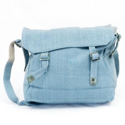 Cotton-Webbing Small Basic Haversack. New-secs. Air Force Blue.