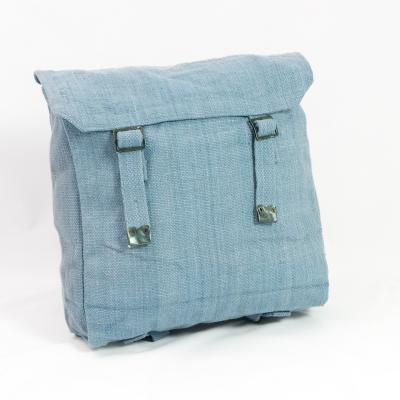 Cotton-Webbing Medium Basic Backpack. New. Air Force Blue.