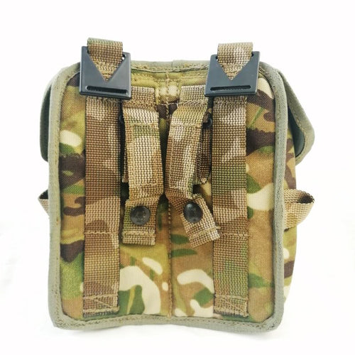 Webbing: Pouch. P.L.C.E. Double Ammo Pouch. British. Used/Graded / New. M-T.P.