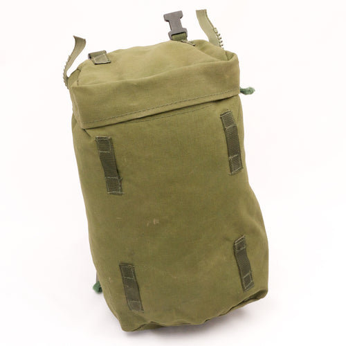 Webbing: Pouch. 90-patt. P.L.C.E. Side Pouch. British. Used/Graded. Olive Green.