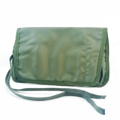 Webbing: Pouch. Rifle Cleaning Kit Roll. British. NOS. Olive Green.