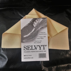 Boot / Shoe Cleaning: Selvyt Polishing Cloth. New. Buff.