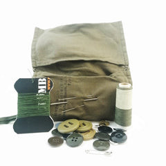 Sewing Kit: Housewife (Standard). Used / Graded. Olive Drab.