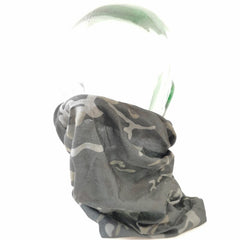 Head & Neckwear: Tactical Snood / Face Covering. New. Black-B-T.P.