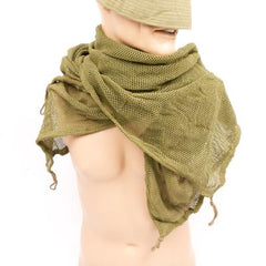 Camouflage & Concealment: Sniper Net. Full Size. Swiss. Used / Graded. Olive Green.