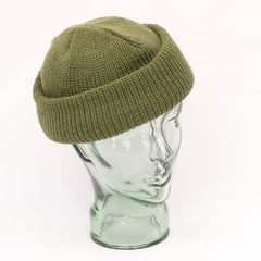 Head & Neckwear: Watch (Warmers) Hat. Acrylic. Olive.