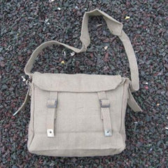 Cotton-Webbing Small Haversack. Olive.