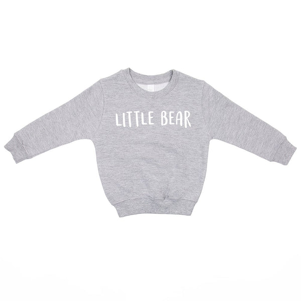 Sweat-shirt LITTLE BEAR - Gris