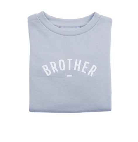 Sweat-shirt BROTHER Mouse grey