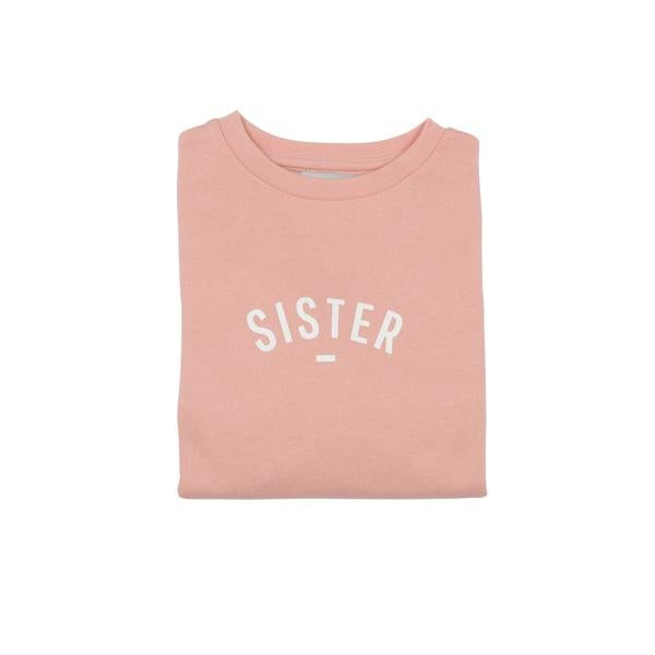 Sweat-shirt SISTER Blush Pink