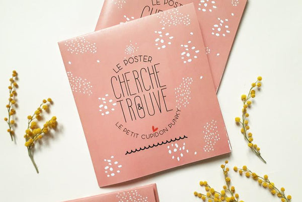 Carte /Poster Cherche & Trouve - I love you