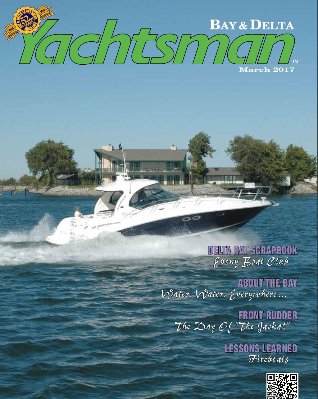 """What's New and Hot"", Yachtsman Magizine."