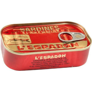 Sardine L'espadon In Oil 125 g