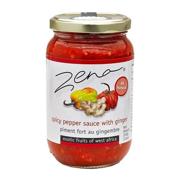 Zena Spicy Pepper Sauce with Ginger 370 g