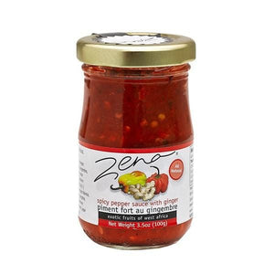 Zena spicy pepper sauce with ginger