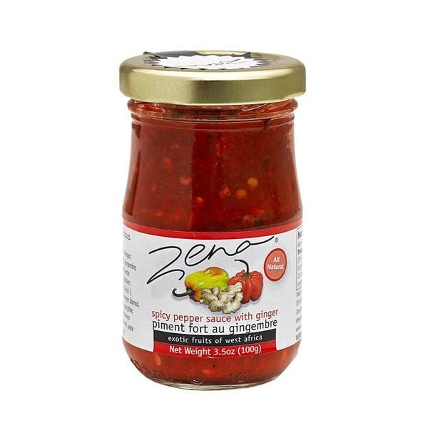 Zena spicy pepper sauce with ginger 100g