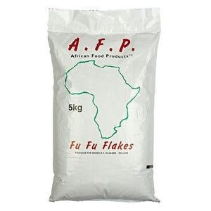 African Food Products Fufu potatoflakes 5 kg
