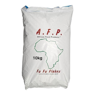 African Food Products Fufu potatoflakes 10 kg