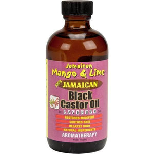 Jamaican Mango & Lime Black Castor Oil Lavender 4 oz