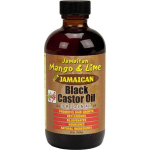 Jamaican Mango & Lime Black Castor Oil Original 4 oz