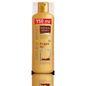 Natural Honey Argan Oil Shower Gel 750 ml