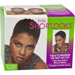 Pink Shortlooks Texturizer Kit
