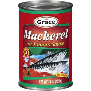 Grace Mackerel in Tomato Sauce 400 g